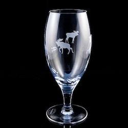 Vattenglas älg